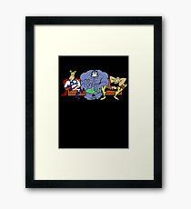 Justice Friends! Framed Print