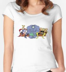 Justice Friends! Women's Fitted Scoop T-Shirt