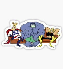 Justice Friends! Sticker