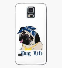 Mops Leben! Hülle & Klebefolie für Samsung Galaxy