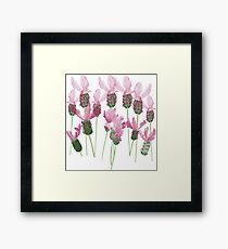Watercolour flowers Framed Print