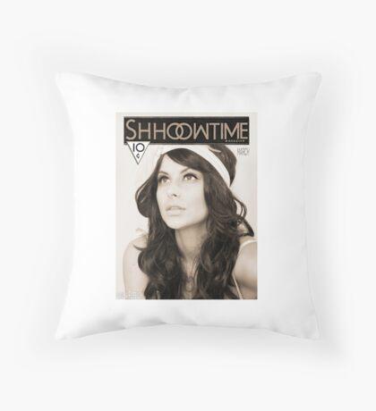ShhowTime Magazine Throw Pillow
