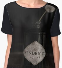 Hendricks Gin Bottle with Dandelion Chiffon Top