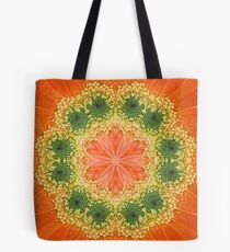 Daisy Kaleidoscope Tote Bag