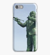 Louis Armstrong Statue New Orleans iPhone Case/Skin