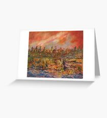 City Heat Greeting Card