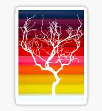 White Tree Sticker