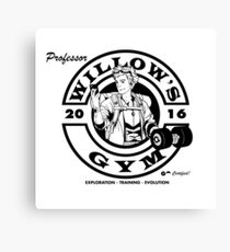 Willow's Gym Canvas Print