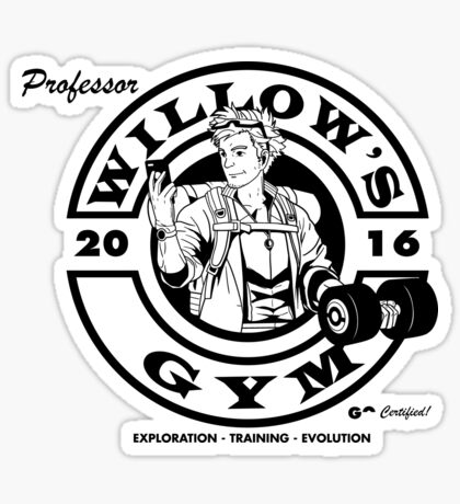 Willow's Gym Sticker