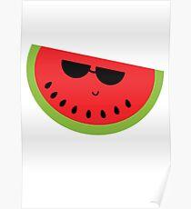Watermelon Sketch: Posters   Redbubble