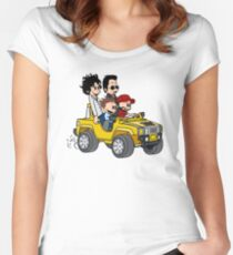 Hitting Queens Boulevard Women's Fitted Scoop T-Shirt