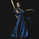 Graceful Dancer in Blue by Richard Young