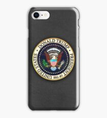 Donald Trump President Seal iPhone Case/Skin