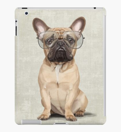 Mr Bulldog iPad Case/Skin