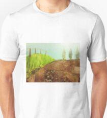 Countryside farmland collage  T-Shirt