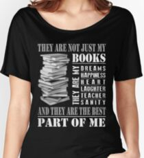 MY BOOKS Women's Relaxed Fit T-Shirt