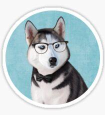 Mr Siberian Husky Sticker