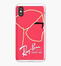 RayBan - Never Hide Print iPhone Case/Skin
