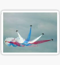 The Red Arrows: Enid Split Sticker