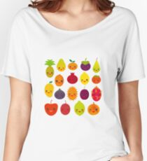 Happy Fruits Women's Relaxed Fit T-Shirt