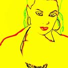 Yellow Pop Art Print- No. 1 by MoGeoPhoto