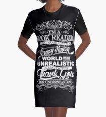 I'M A BOOK READER  Graphic T-Shirt Dress
