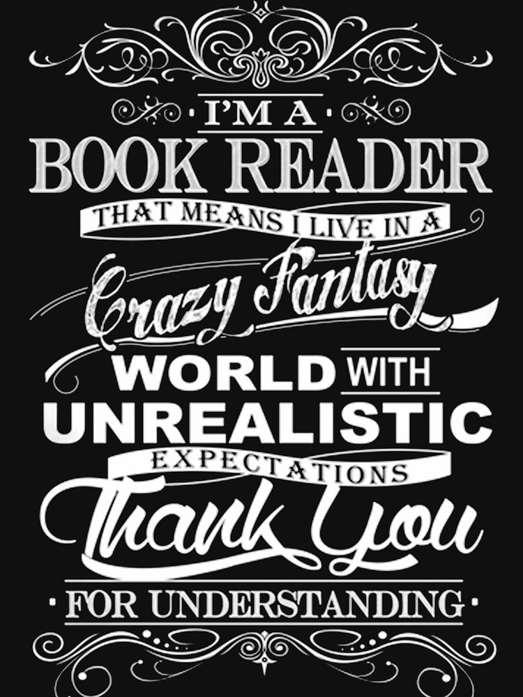 I'M A BOOK READER  by BookLover1
