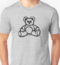 Cartoon Teddy Bear Doodle T-Shirt