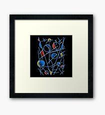 kandinsktronic Framed Print