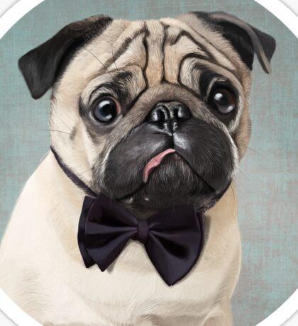 Mr Pug Sticker