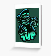 1UP Greeting Card