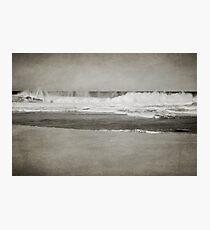 Bar Beach on a Windy Day Photographic Print