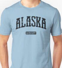 Alaska Represent (Black Print) Unisex T-Shirt