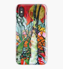 Singing trees iPhone Case