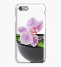 Orchid Zen iPhone Case/Skin