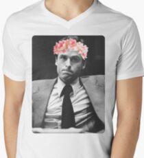 Flower crown Ted Bundy Men's V-Neck T-Shirt