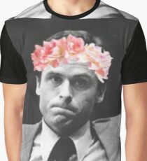 Flower crown Ted Bundy Graphic T-Shirt