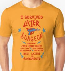 I Survived Lazer Dungeon Unisex T-Shirt