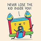 The kid inside you by Andres Colmenares