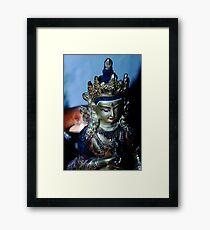 Dharma Light. Framed Print
