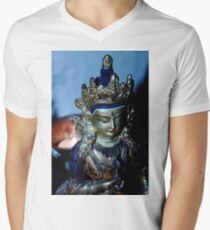 Dharma Light. Men's V-Neck T-Shirt