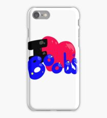 I Heart Boobs. iPhone Case/Skin