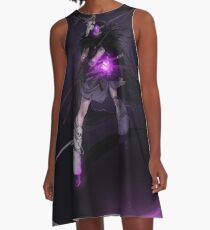 the warrior of saturn A-Line Dress