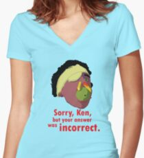 A Fish Called Wanda - Sorry, Ken Women's Fitted V-Neck T-Shirt