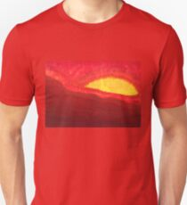 Wildfire Eye original painting Unisex T-Shirt