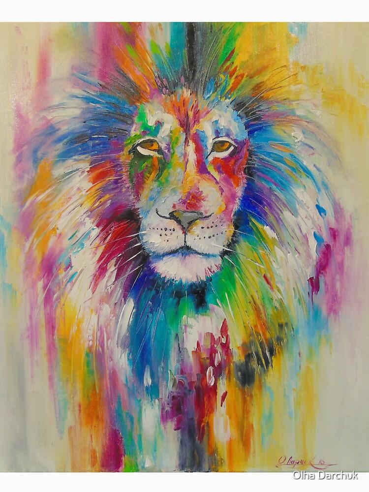 Rainbow lion von Olyha