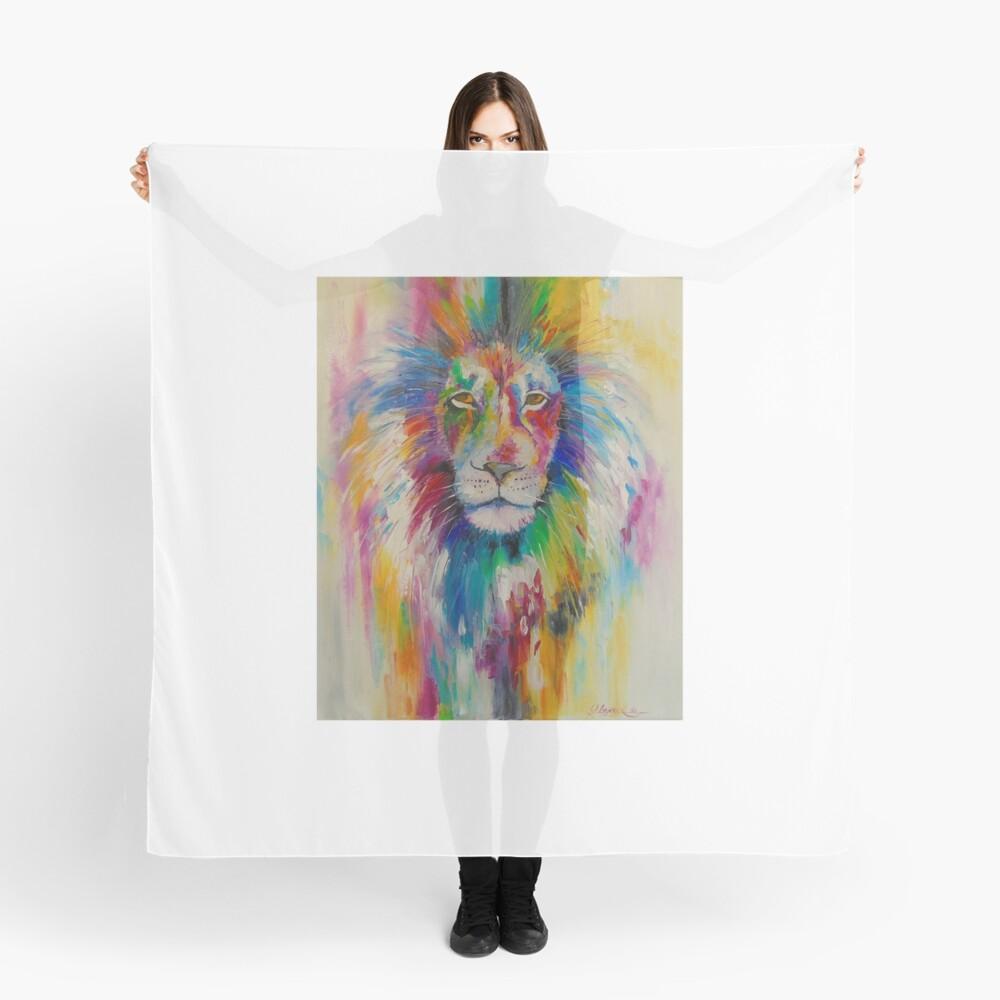 Rainbow lion Tuch