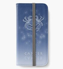 Cancer Zodiac constellation - Starry sky iPhone Wallet/Case/Skin