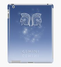 Gemini Zodiac constellation - Starry sky iPad Case/Skin
