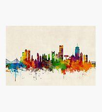 Boston-Massachusetts-Skyline Fotodruck